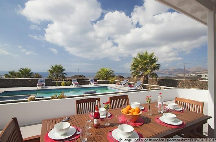 Bild 5: Lanzarote - Macher - beste Lage! Villa mit Klasse Meerblick - Spanien Immobilien
