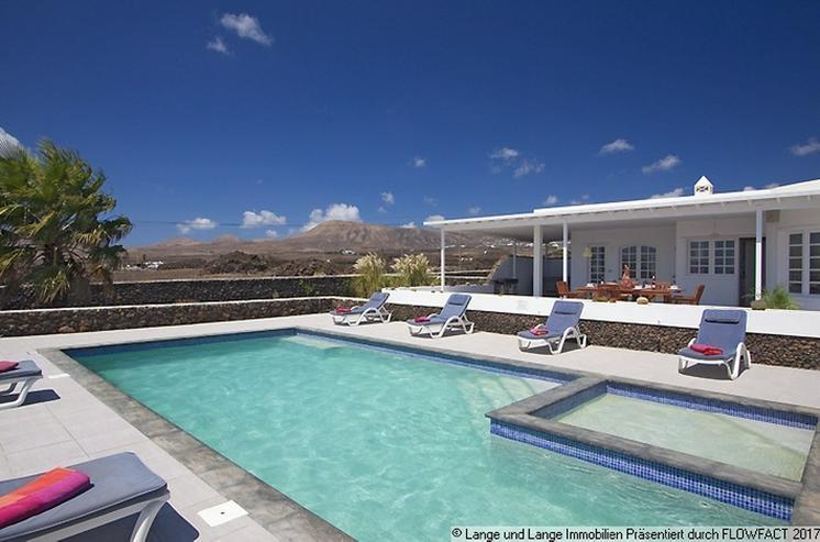 Bild 3: Lanzarote - Macher - beste Lage! Villa mit Klasse Meerblick - Spanien Immobilien