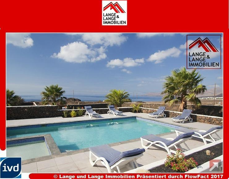 Lanzarote - Macher - beste Lage! Villa mit Klasse Meerblick - Spanien Immobilien - Auslandsimmobilien - Bild 1
