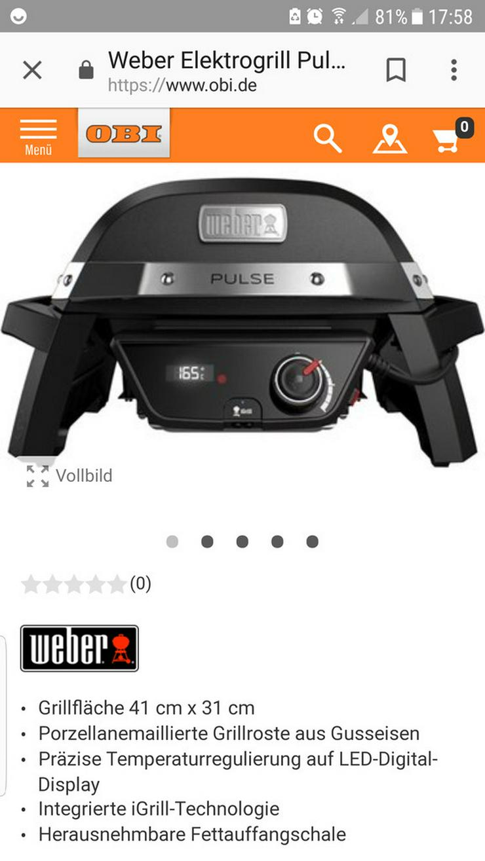 Weber Grill Pulse 1000