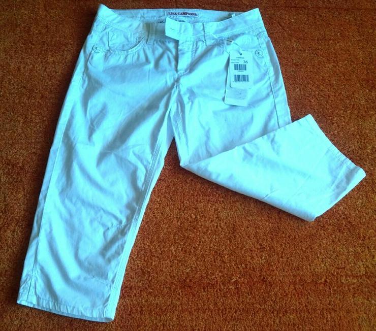 NEU Damen Hose Capri Jeans Gr.36 in Weiß
