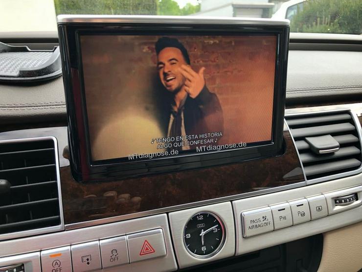 Video in Motion VIM TV aktivieren VAG AUDI VW