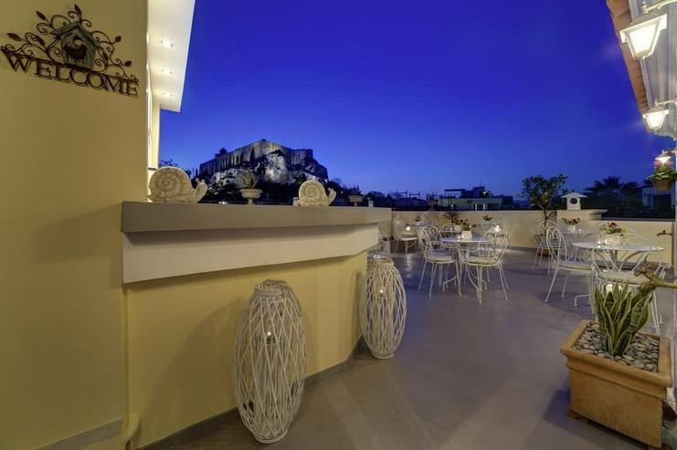 Boutique-Hotel in Athen, Nähe Akropolis