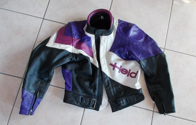 Motorradlederjacke von Held