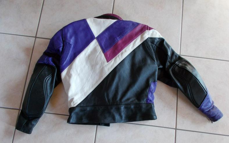 Bild 3: Motorradlederjacke von Held