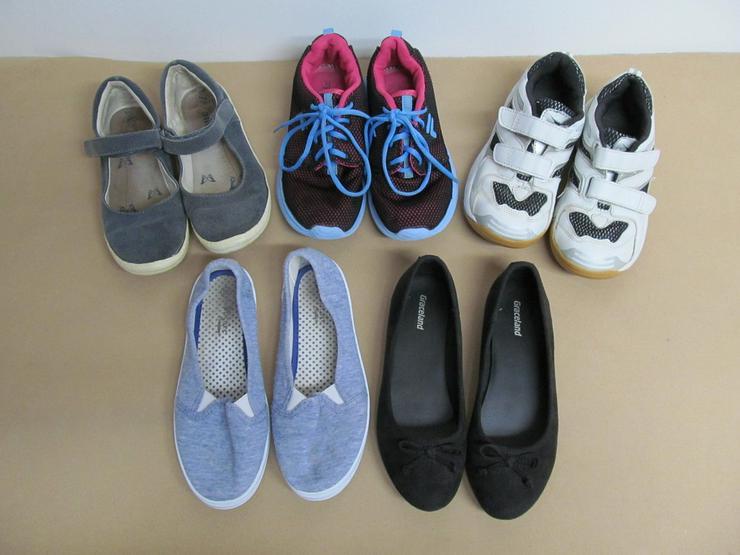 Schuhe Ballerina Turnschuhe Stoffschuhe Gr. 33