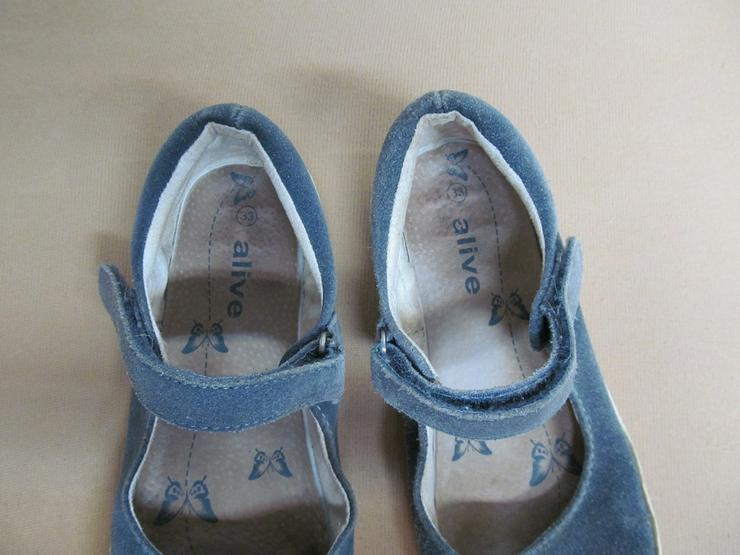 Bild 3: Schuhe Ballerina Turnschuhe Stoffschuhe Gr. 33