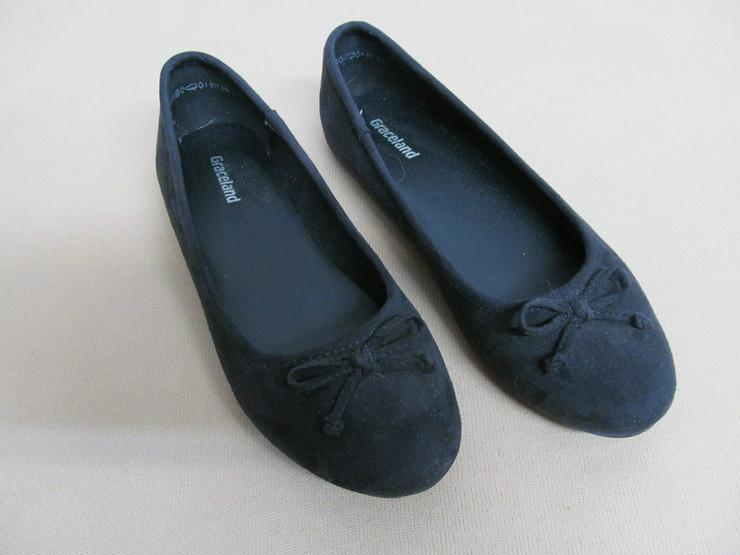 Bild 5: Schuhe Ballerina Turnschuhe Stoffschuhe Gr. 33