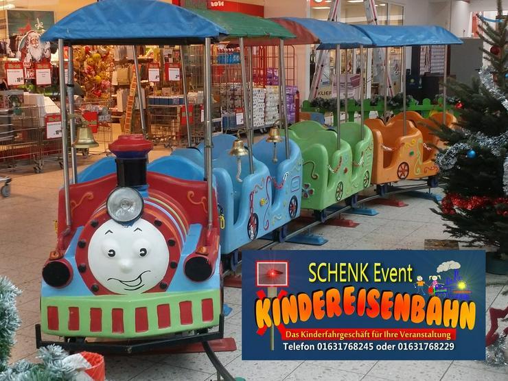 Kindereisenbahn für Ihre Veranstaltung frei!