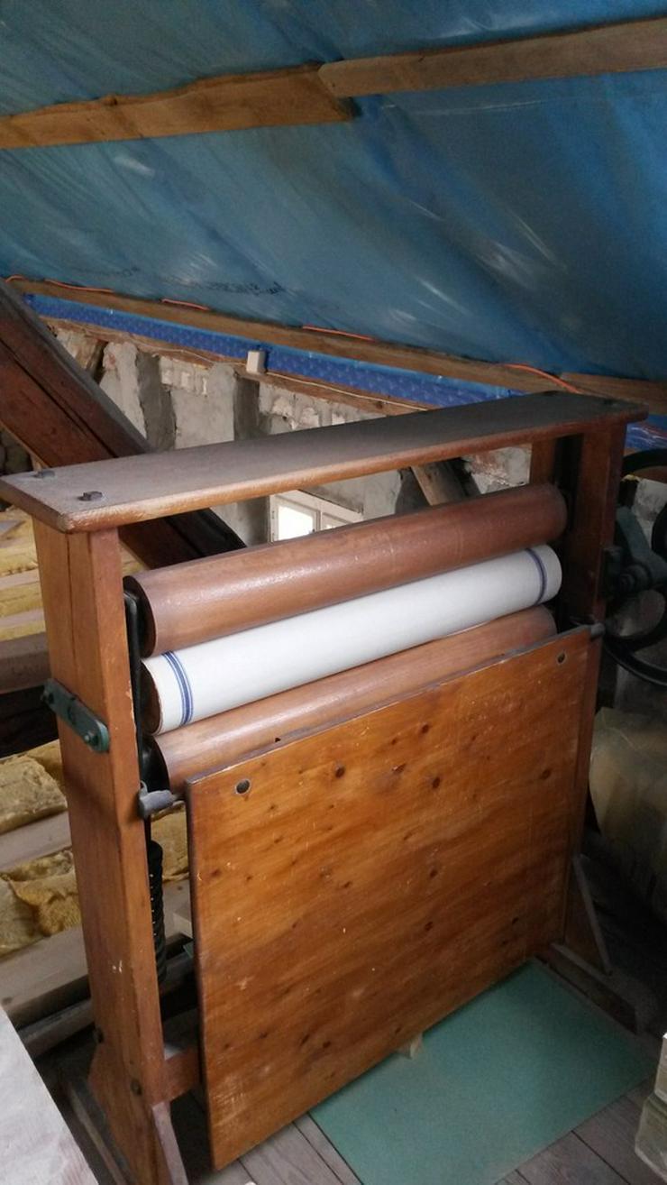 Bild 2: Wäscherolle Wäschemangel Deko