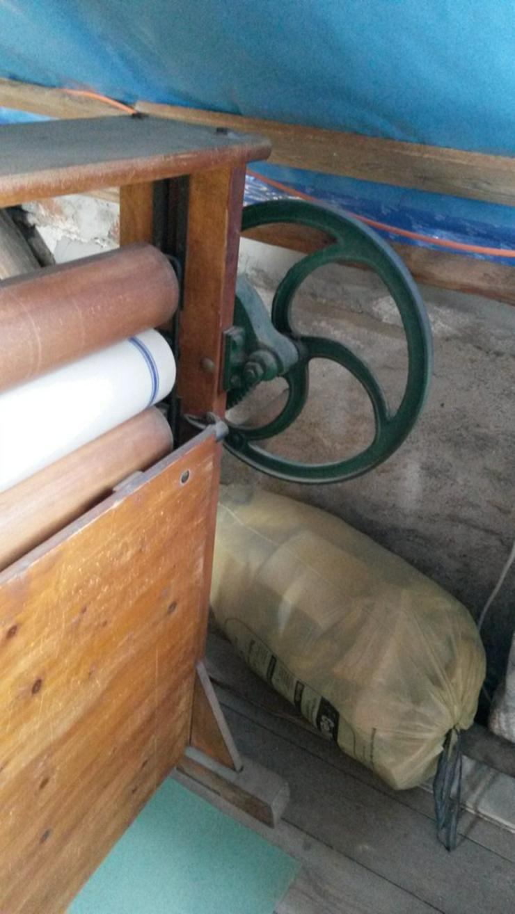 Bild 4: Wäscherolle Wäschemangel Deko