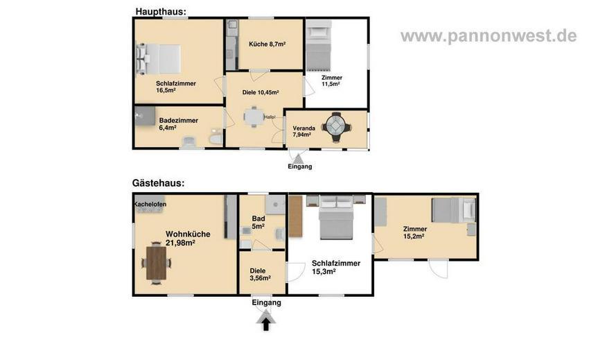 Bild 3: Ein gemütliches Landhaus mit zwei Wohneinheiten