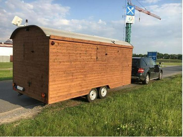 Tiny House, Bauwagen, 80km/h, Wohnwagen, Holzw