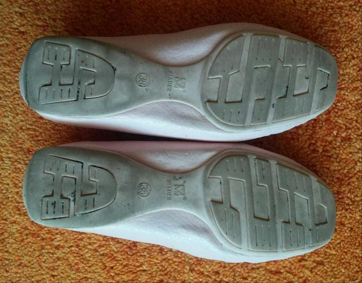 Bild 4: Damen Schuhe Leder Mokassins Gr.38 in Rosa