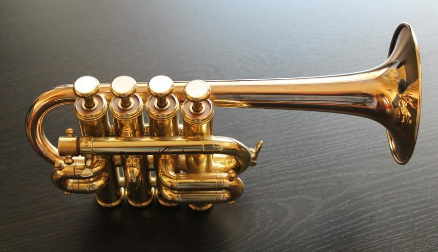 Yamaha Custom Hoch B/A Piccolo - Trompete - Blasinstrumente - Bild 1