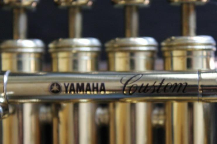 Bild 2: Yamaha Custom Hoch B/A Piccolo - Trompete