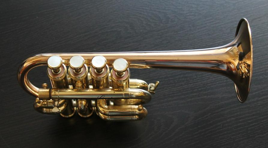 Bild 6: Yamaha Custom Hoch B/A Piccolo - Trompete