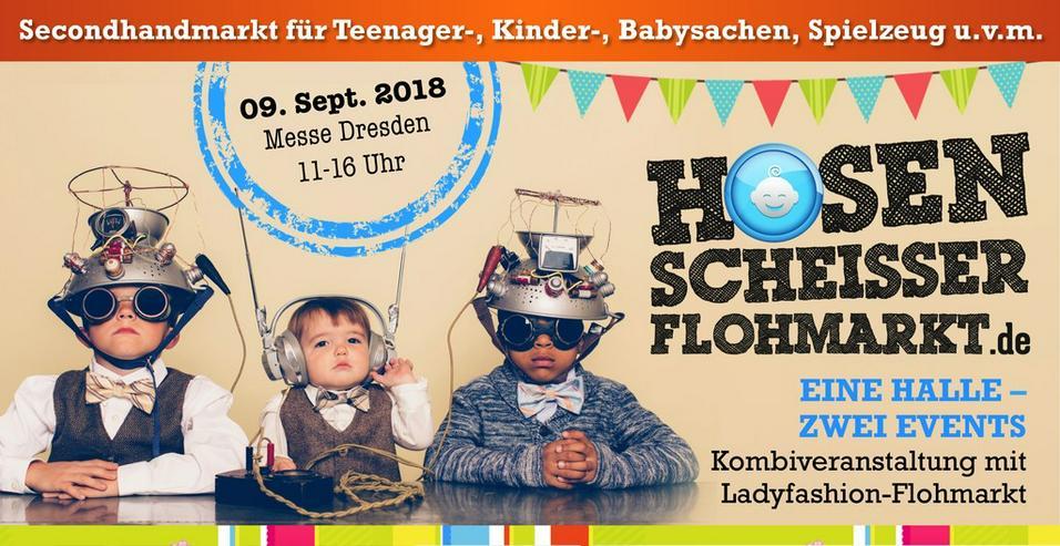 9. Hosenscheisser-Flohmarkt // Messe Dresden - Märkte & Messen - Bild 1