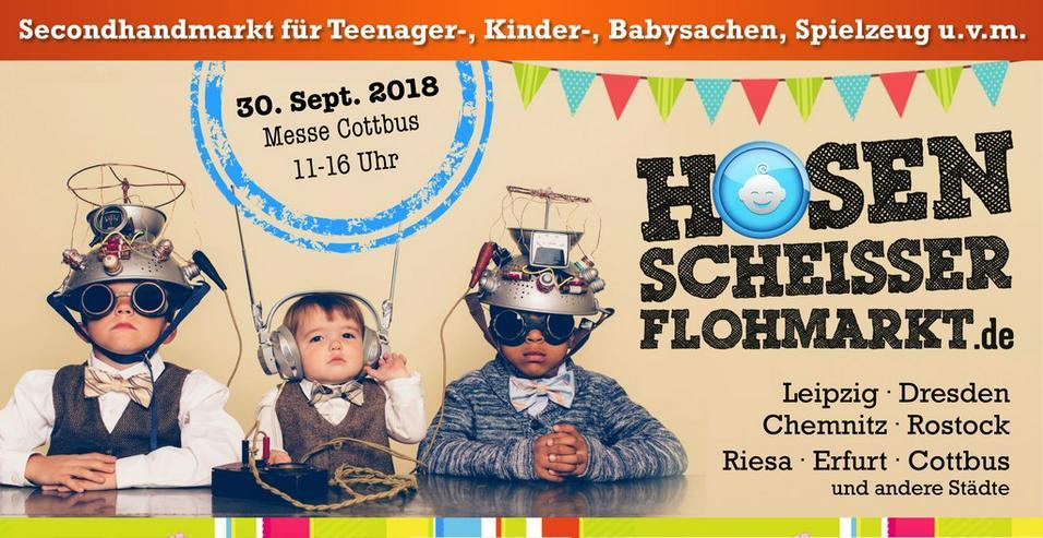 22. Hosenscheisser-Flohmarkt // Messe Cottbus - Märkte & Messen - Bild 1