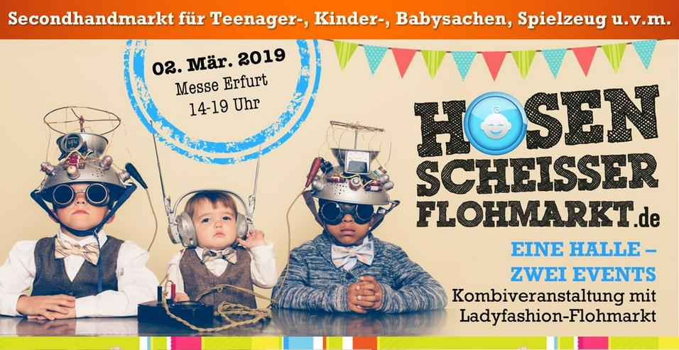 3. Hosenscheisser-Flohmarkt // Messe Erfurt