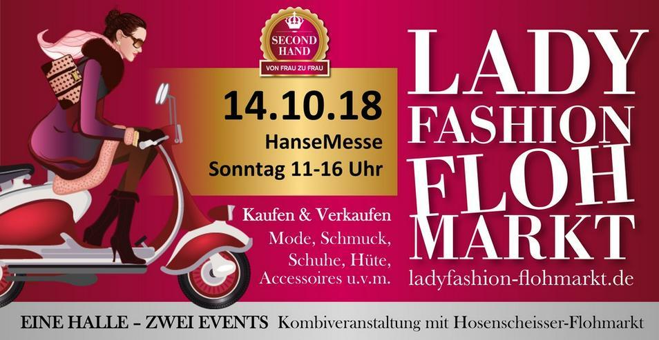 cheap for discount c8e49 ad9d6 7. Ladyfashion-Flohmarkt // HanseMesse Rostock in Rostock ...