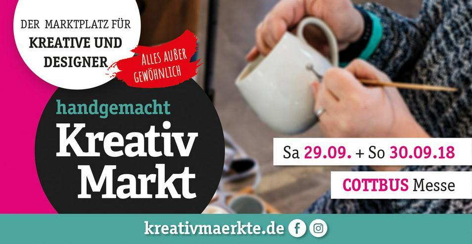 6. handgemacht Kreativmarkt // Messe Cottbus - Märkte & Messen - Bild 1