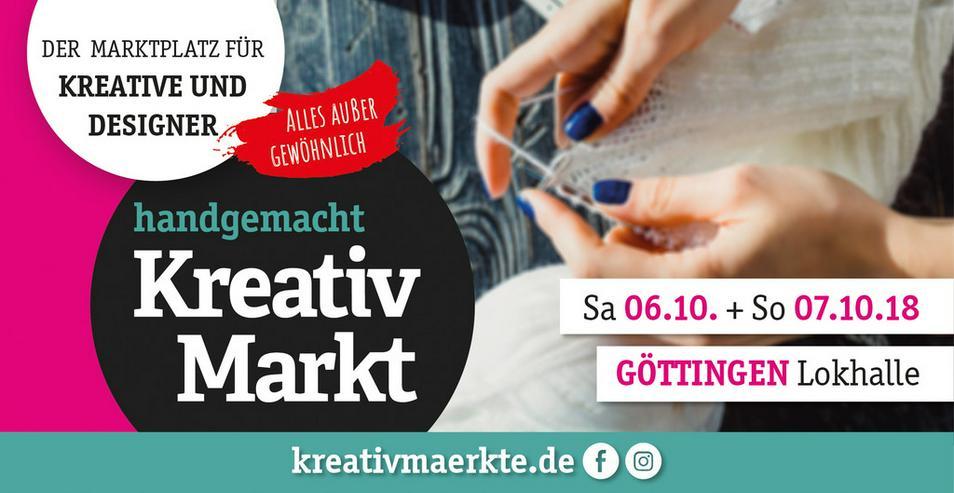 5. handgemacht Kreativmarkt // Lokhalle - Märkte & Messen - Bild 1