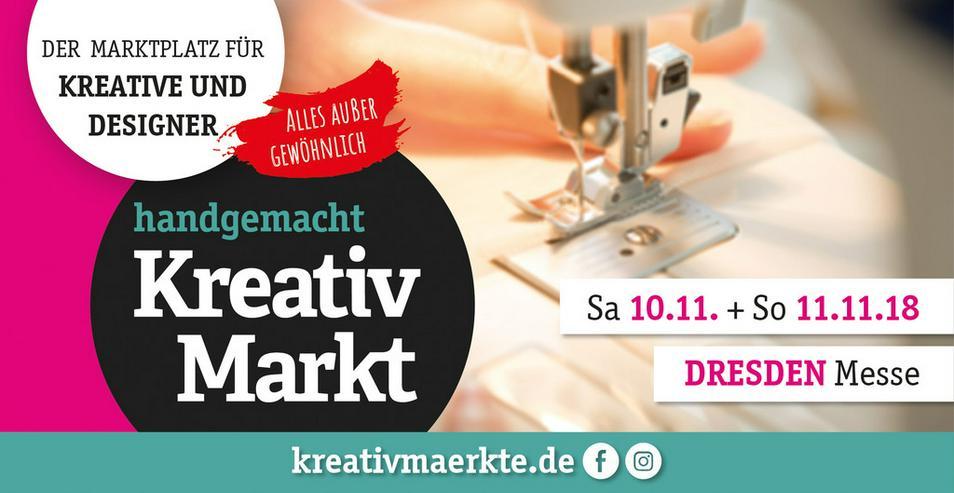 11. handgemacht Kreativmarkt // Messe Dresden