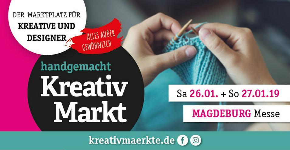 8. handgemacht Kreativmarkt // Messe Magdeburg