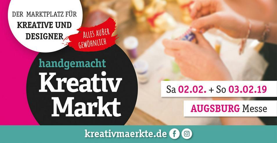 3. handgemacht Kreativmarkt // Messe Augsburg