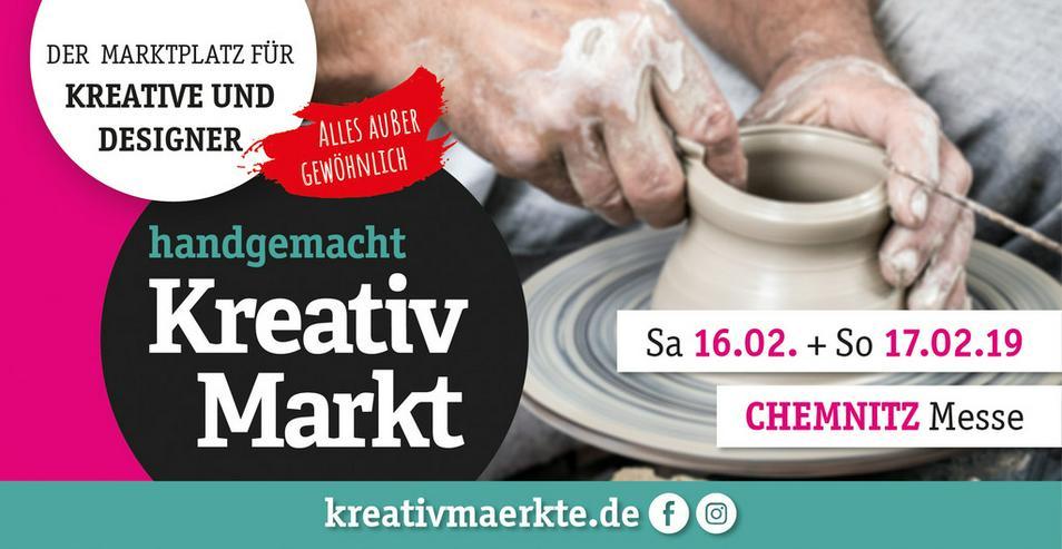 11. handgemacht Kreativmarkt // Messe Chemnitz