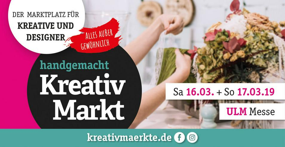 1. handgemacht Kreativmarkt // Messe Ulm - Märkte & Messen - Bild 1