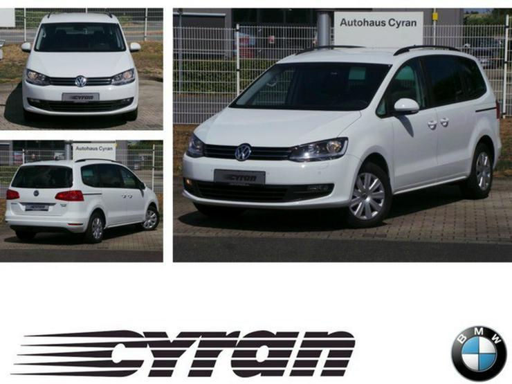 Volkswagen Sharan 2.0 TDI 85kW BlueMotion Tech Trendline Bluetooth PDC Kurvenlicht Klima