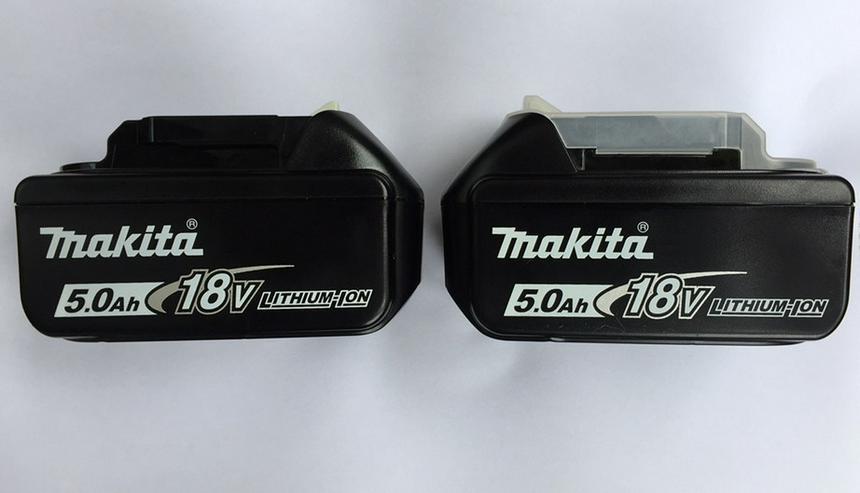 2 x Makita Akku BL1850B 5 Ah 18 V !! NEU