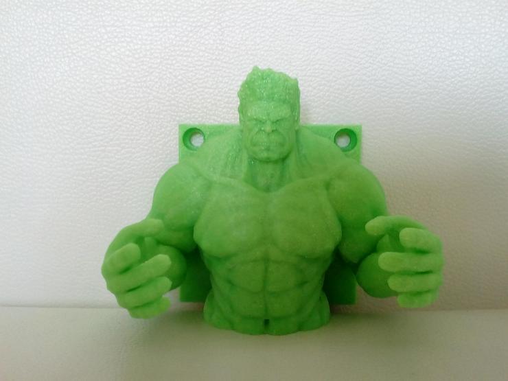 Wandhaken Kinderhaken Hulk - Figuren - Bild 1