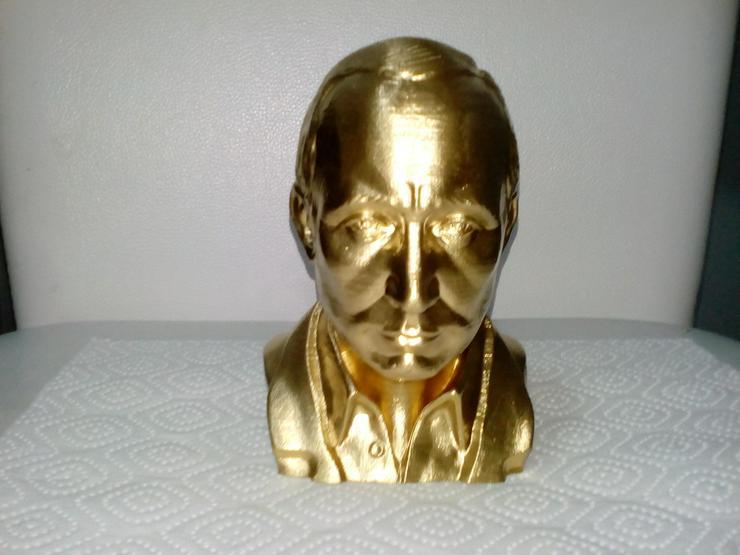 Russischer präsident Putin Büste Figur Statue