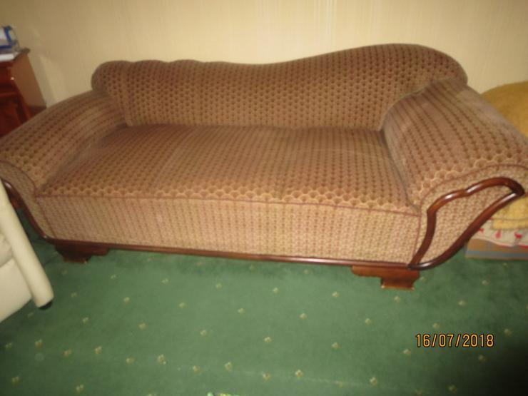 altes Sofa restauriert