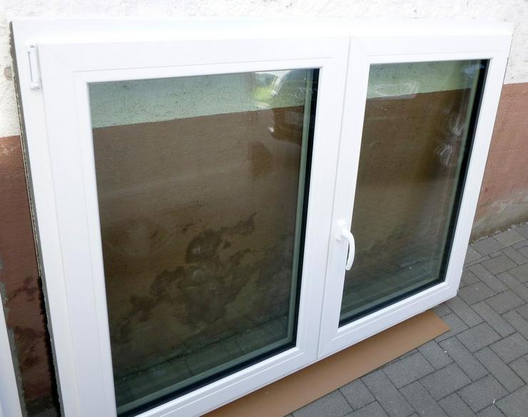 Fenster Element 2 tlg.weiss Wärme-Schallfenste