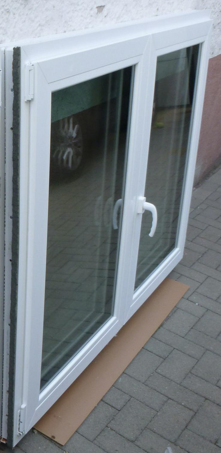 Bild 2: Fenster Element 2 tlg.weiss Wärme-Schallfenste