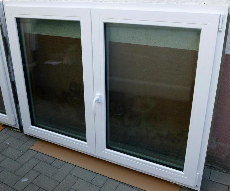 Bild 3: Fenster Element 2 tlg.weiss Wärme-Schallfenste
