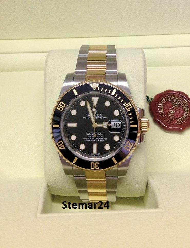 Rolex Submariner Date Gold/Steel NEU 116613LN