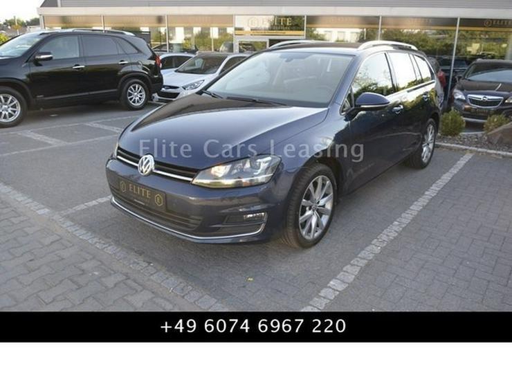 VW Golf VII Variant Highline NaviDiscover/Leder/BiX