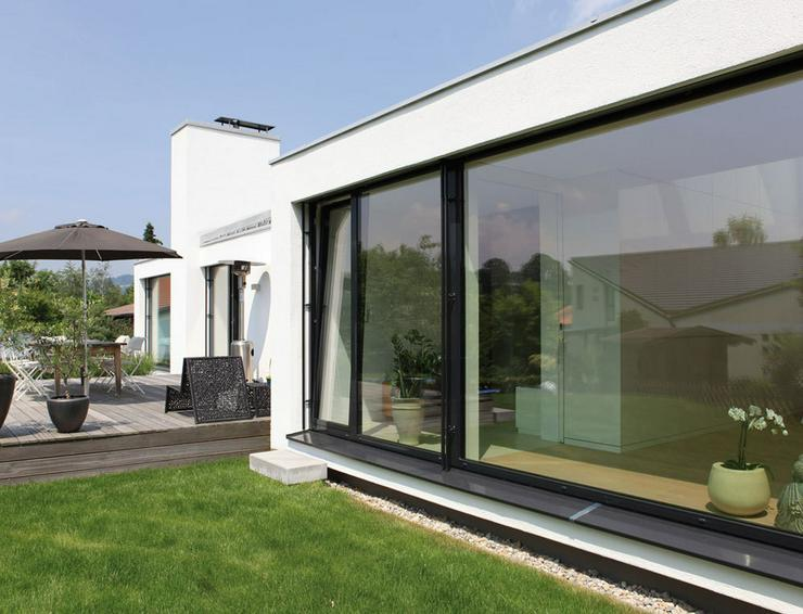 Bild 3: Fenster , Türen , Terrassendächer aus Aluminium