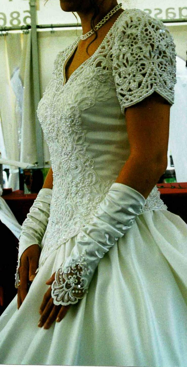 Bild 4: Romantisches Brautkleid, creme, Gr. 36