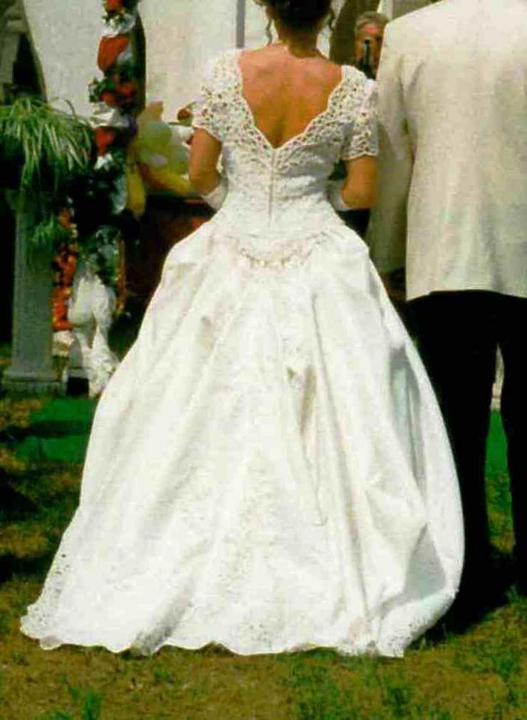Bild 5: Romantisches Brautkleid, creme, Gr. 36
