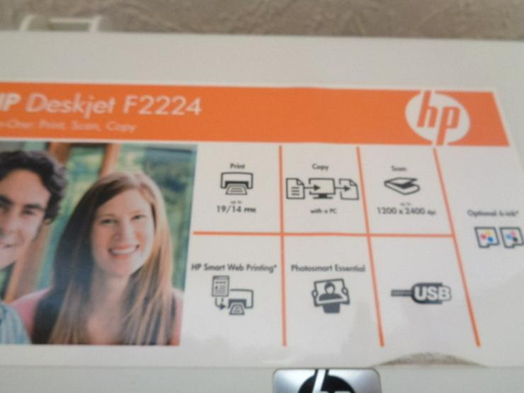 Bild 2: HP Deskjet F2224 Multifunktionsgerät