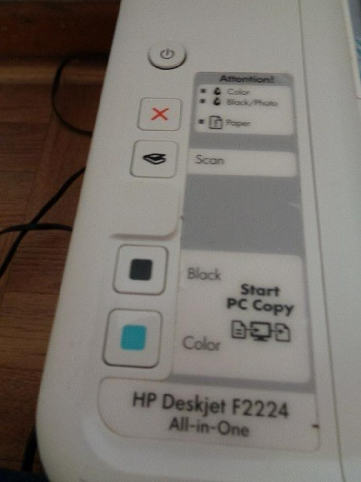 Bild 3: HP Deskjet F2224 Multifunktionsgerät