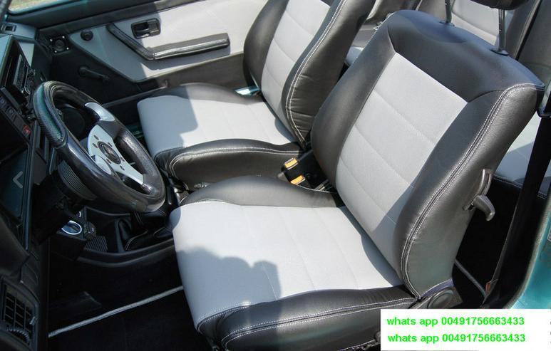 Golf 1 Cabrio Sitze neubezogen Recaro Sitze - Sitze, Bezüge & Auflagen - Bild 1