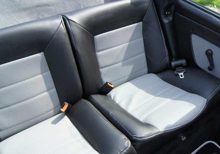 Bild 2: Golf 1 Cabrio Sitze neubezogen Recaro Sitze