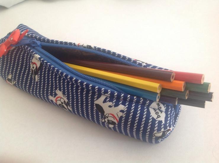 Bild 3: Stiftemäppchen, Mops, neu, Schulmäppchen